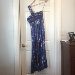 Banana Republic Cross Shoulder Prom Dress